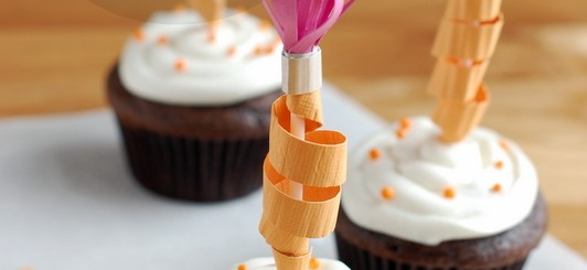 DIY pencil cupcake toppers - NoBiggie.net