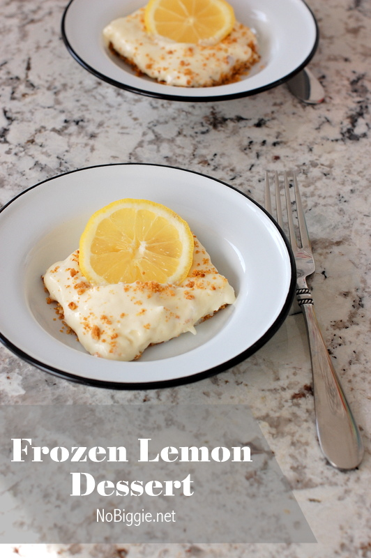 frozen lemon dessert recipe - NoBiggie.net