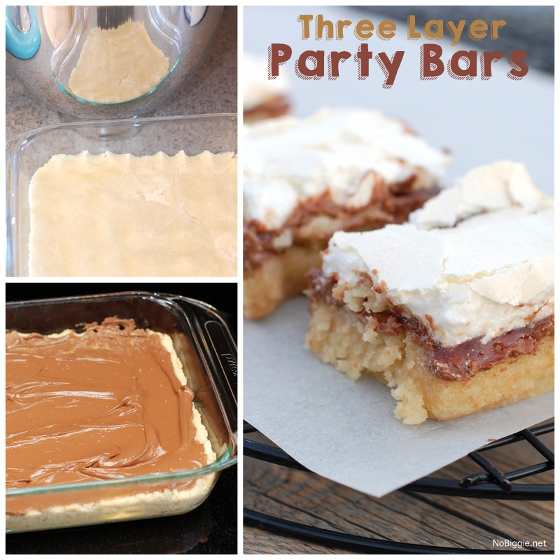 three layer party bars | NoBiggie.net