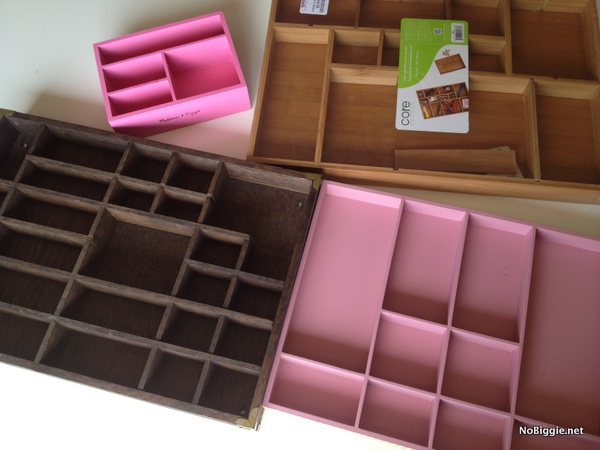 printer trays for craft organization - more ideas on NoBiggie.net