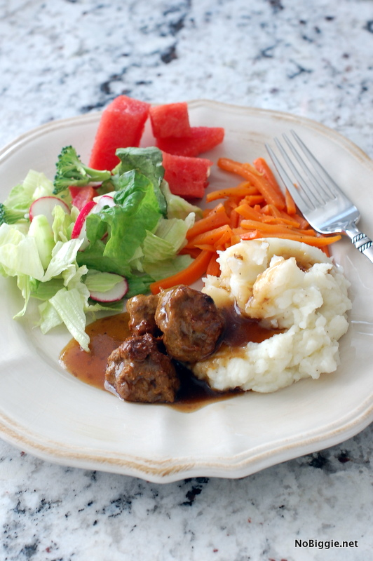 swedish meatballs recipe - the best! | NoBiggie.net