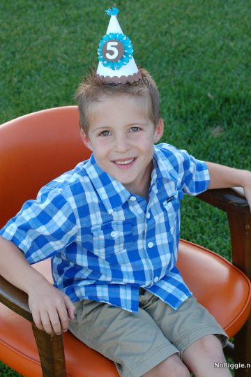 Aiden is 5 – our birthday tradition