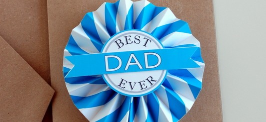 Father's Day Printable medallion - free printables on NoBiggie.net