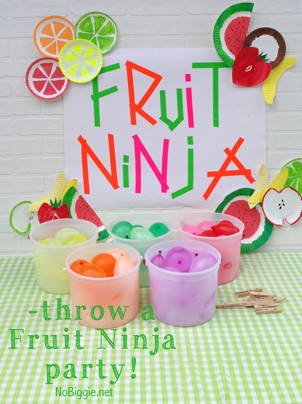 Fruit Ninja party!