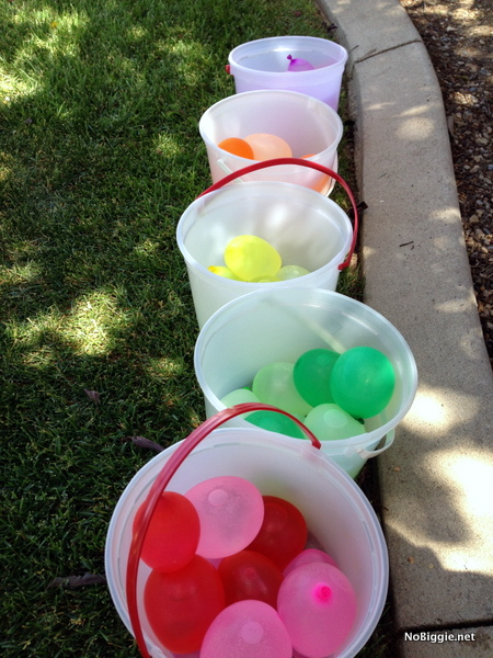 color coded water balloons - NoBiggie.net