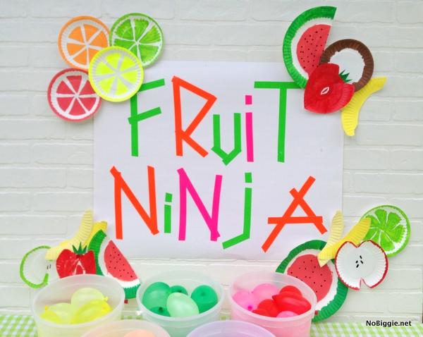 fruit ninja party ideas - NoBiggie.net