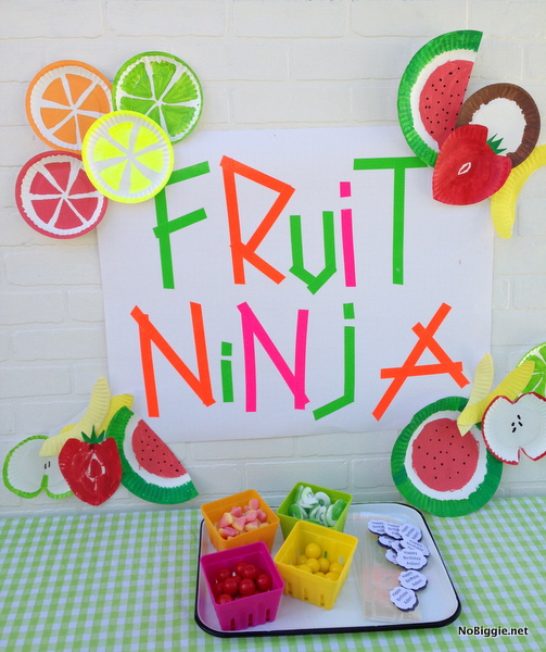 fruit ninja party via NoBiggie.net