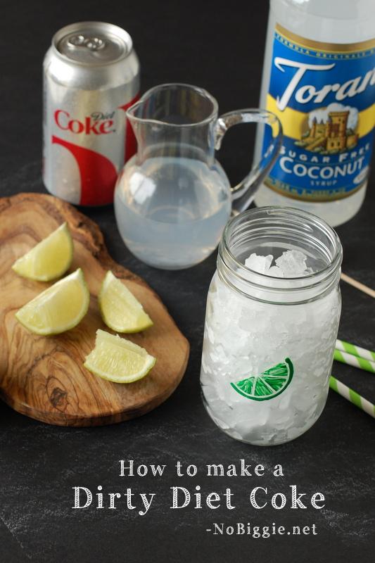 how to make a dirty diet coke - NoBiggie.net