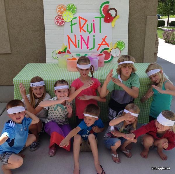 ninja party ideas on NoBiggie.net