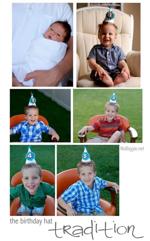 the birthday hat tradition - NoBiggie.net