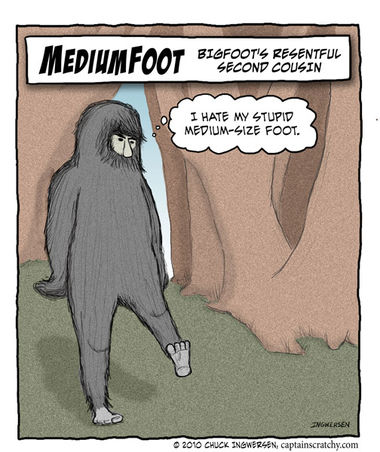 Big Foot's cousin - medium-foot