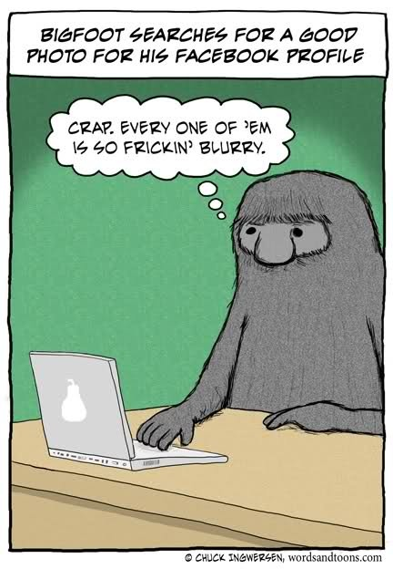 big foot on FaceBook