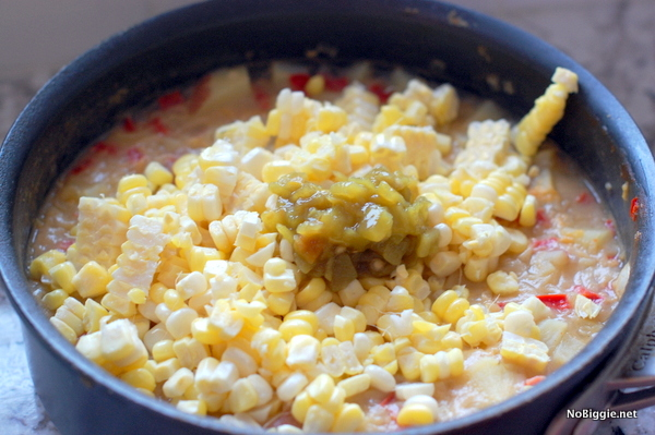 fresh corn chowder | NoBiggie.net