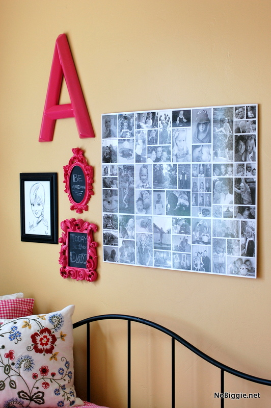 girl's room wall collage | NoBiggie.net