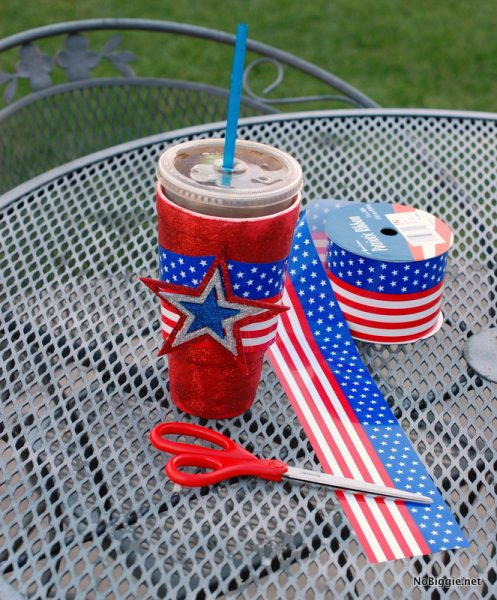 make festive cups for the 4th tutorial | NoBiggie.net