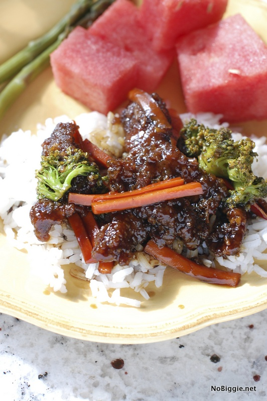 Mongolian beef stir fry recipe | NoBiggie.net