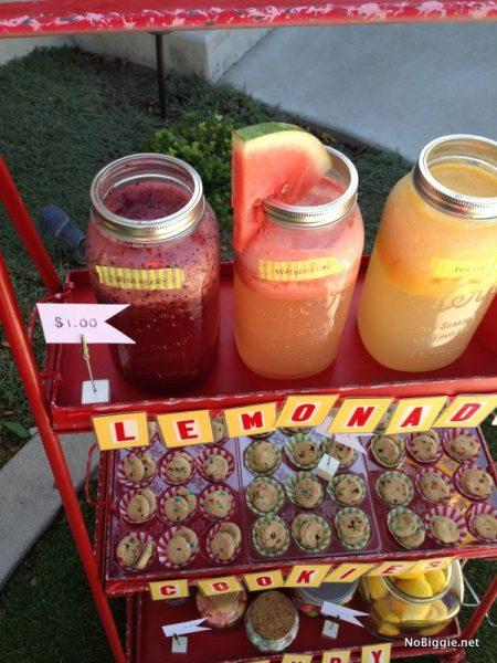 DIY gourmet lemonades NoBiggie.net