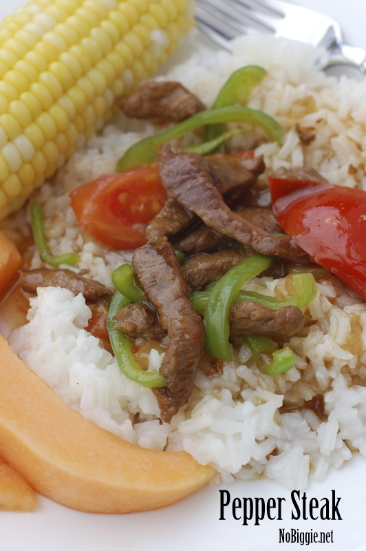 Pepper Steak recipe - NoBiggie.net
