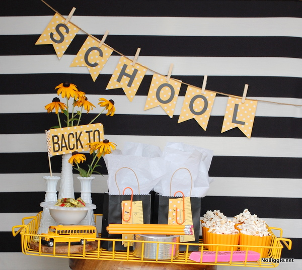 back to school party ideas - NoBiggie.net 1