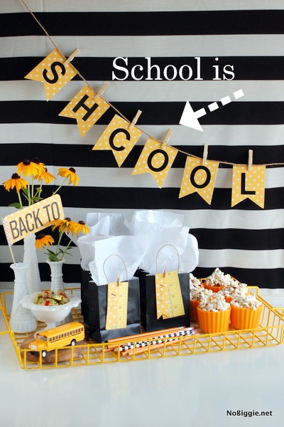 back to school party ideas - NoBiggie.net 7