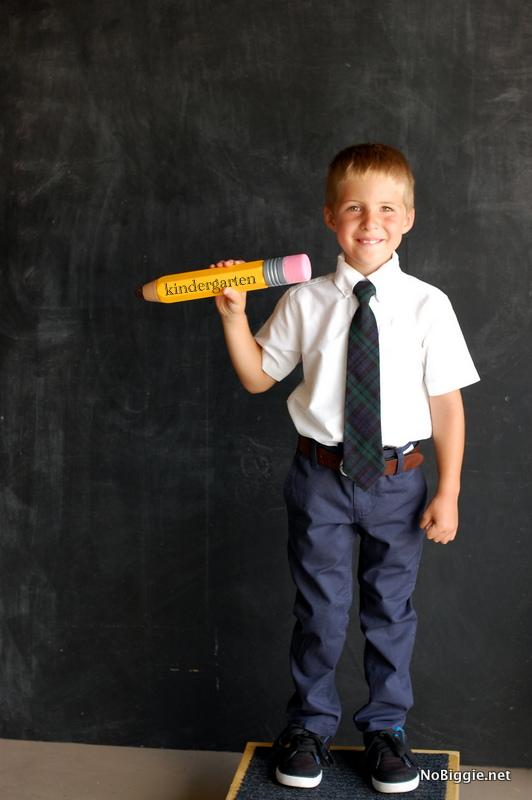 back to school photo idea - NoBiggie.net