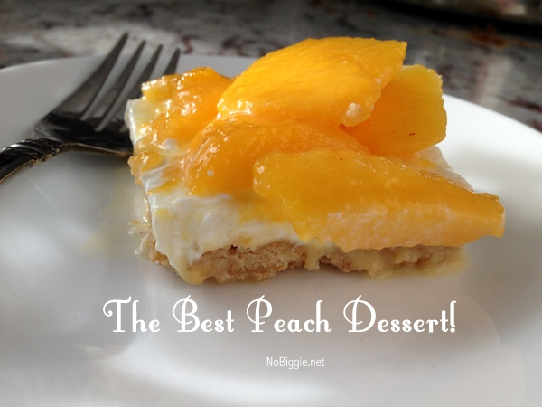 the best peach dessert - recipe on NoBiggie.net