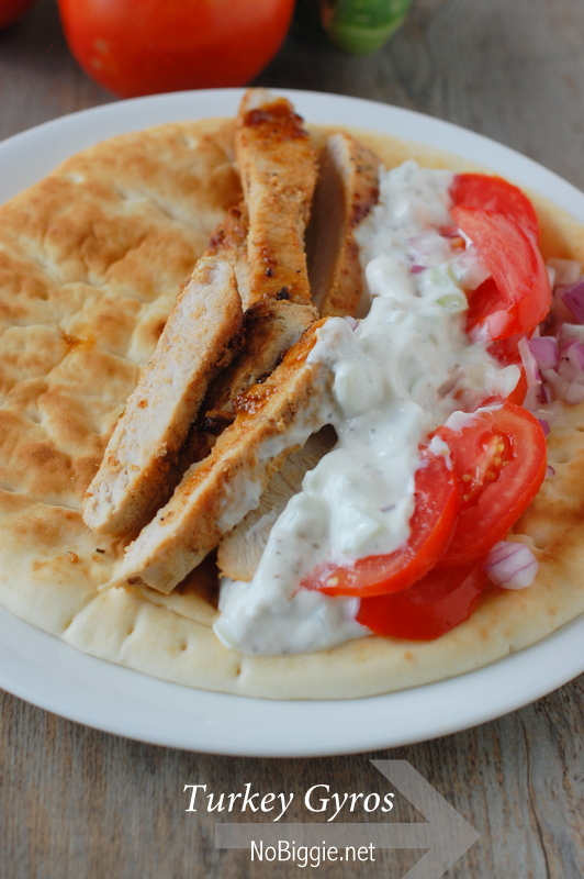 turkey gyros - NoBiggie.net