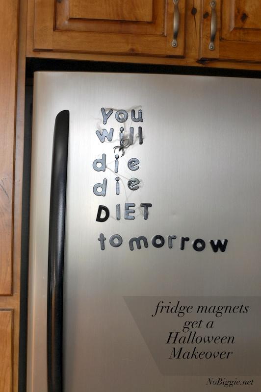 DIY Halloween fridge magnets | NoBiggie.net