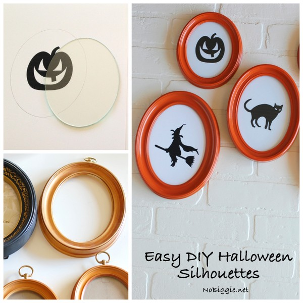 Easy DIY Halloween Silhouettes | NoBiggie.net