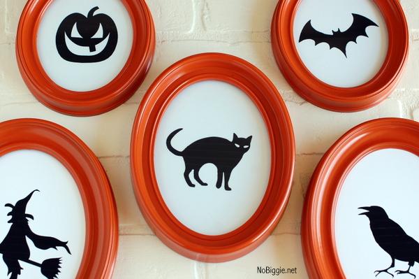 Halloween Silhouettes - free printables- NoBiggie.net
