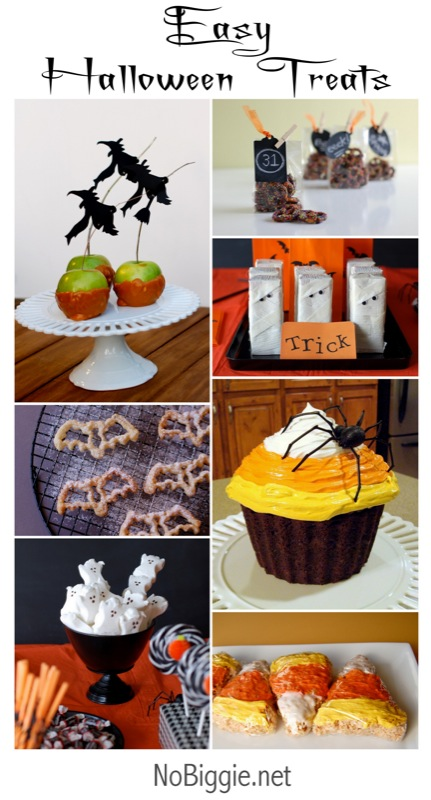 Halloween treats and craft ideas on NoBiggie.net