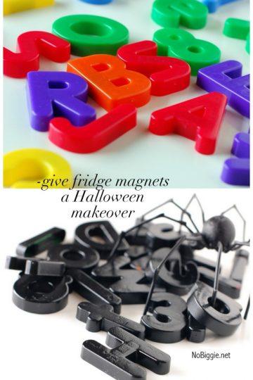 DIY Halloween Fridge Magnets