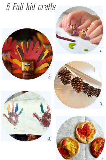 5 Kid Crafts for Fall