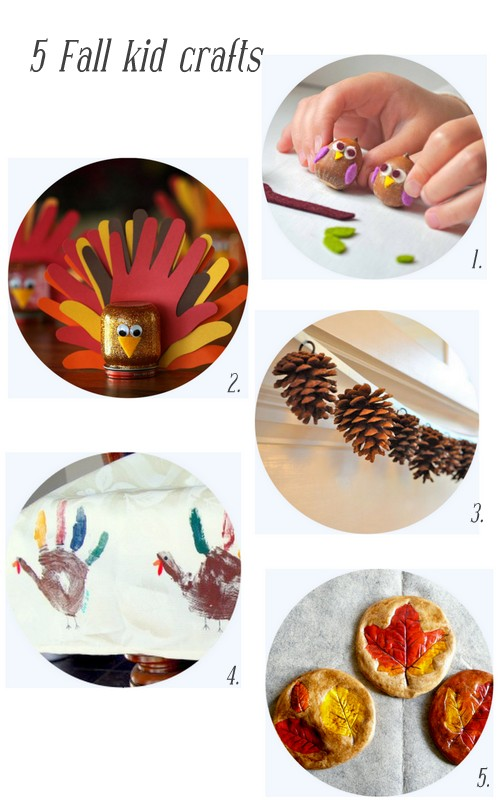 5 fall kid crafts