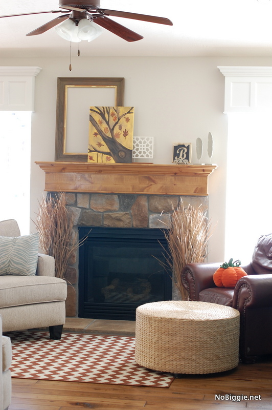 Fall Mantle ideas - NoBiggie.net