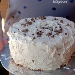 Chocolate Mocha angel food cake | NoBiggie.net