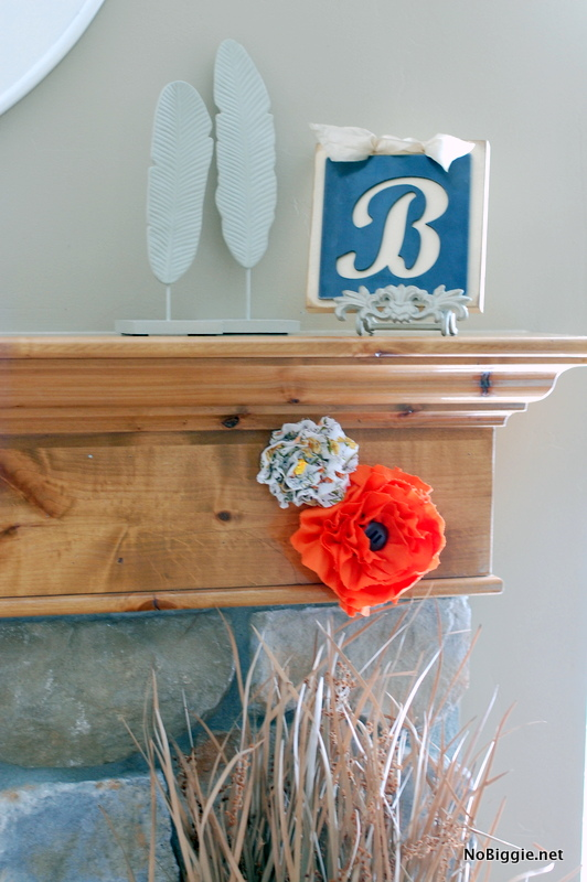 Make fabric flowers from vintage sheets - NoBiggie.net