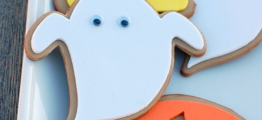 fake Halloween cookies - NoBiggie.net