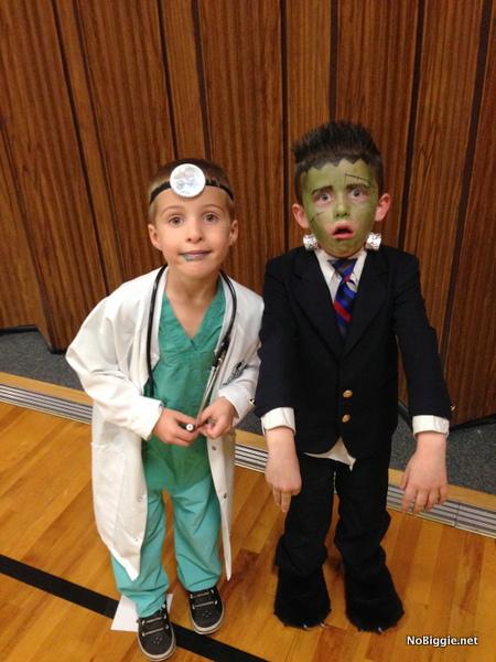 frankenstein and doctor costume - NoBiggie.net