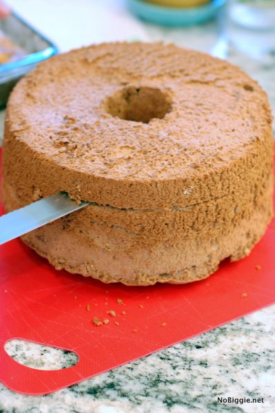 mocha angel food cake | NoBiggie.net