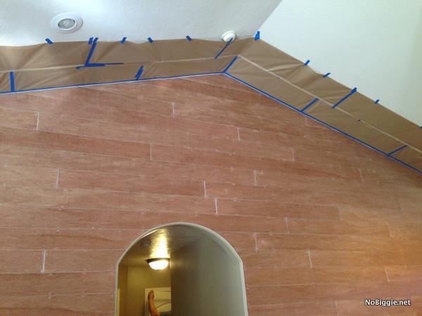 paint prep - planked wall - NoBiggie.net