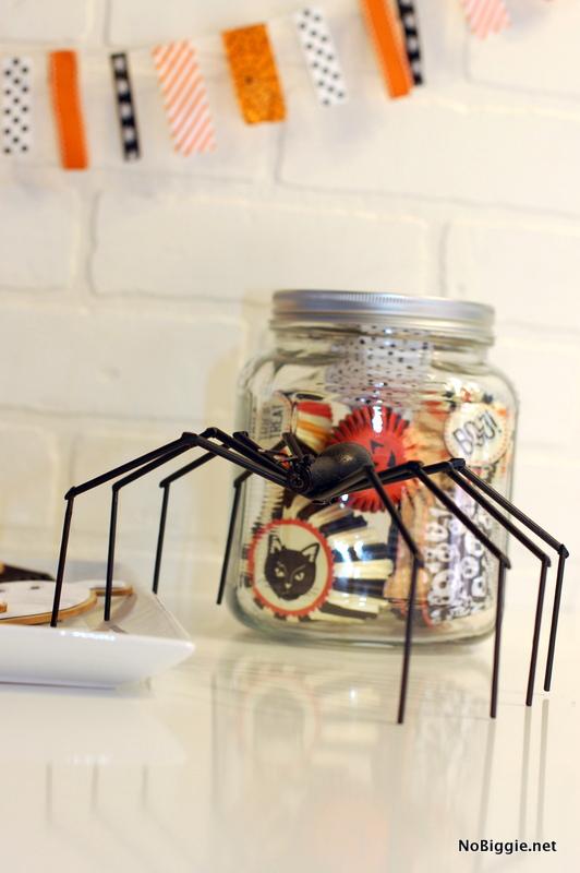 spooky Halloween spider - NoBiggie.net
