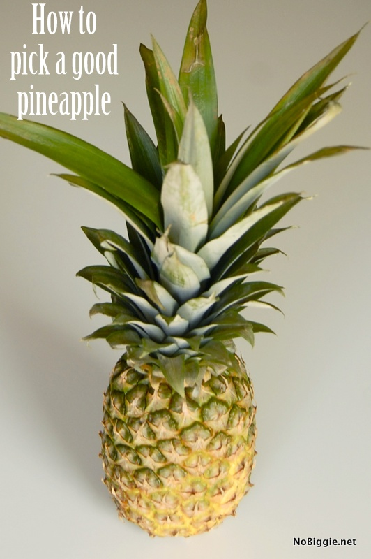 How to pick a good pineapple everytime - NoBiggie.net