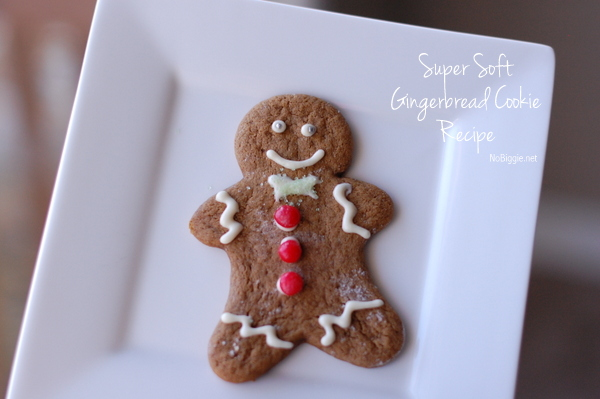 So excited to try this recipe! -Super soft gingerbread cookies - NoBiggie.net
