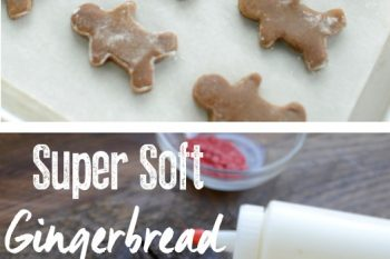 Super soft gingerbread cookies