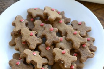 Super soft gingerbread cookies