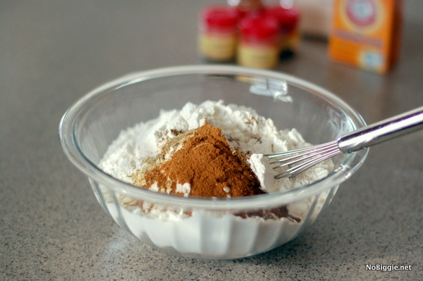 mix up all the dry ingredients - NoBiggie.net