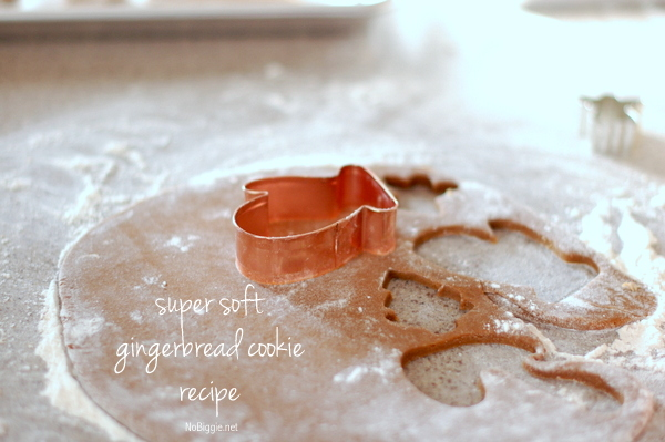super soft gingerbread cookie recipe - NoBiggie.net