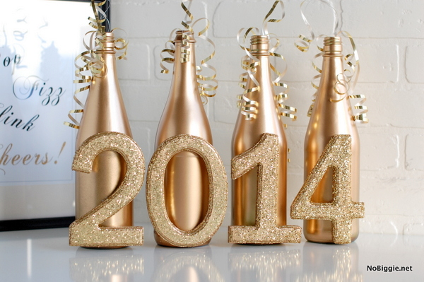 Celebrate New Year's Eve with this easy centerpiece - NoBiggie.net