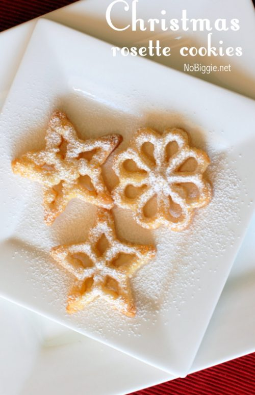 Christmas rosette cookies are a classic Scandinavian cookie that is perfect for Christmas, #cookies #cookierecipes #Chirstmascookies #rosettecookies